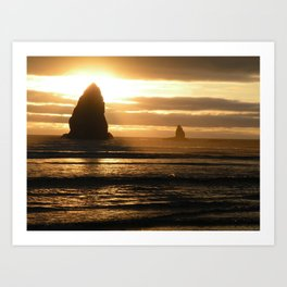 Pacific Northwest Sunset Art Print