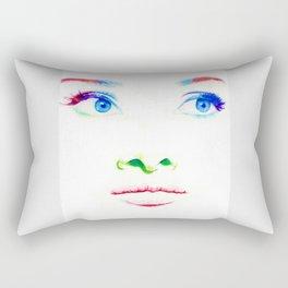 Audrey in Color Rectangular Pillow