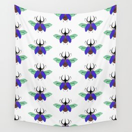 Beetle #5 Color Wall Tapestry