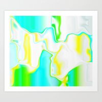 Dripping Paint 4  Art Print