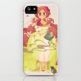 Tamaura of the Forest iPhone Case