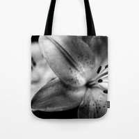 casablanca Tote Bags featuring Casablanca Lily by Leandro