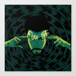 Mind-control powers in good use Canvas Print