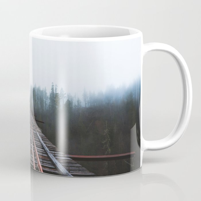Abandoned Railroad Vance Creek Bridge - Olympic National Park, Washington Coffee Mug