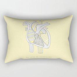 You Give Me Tachycardia Rectangular Pillow