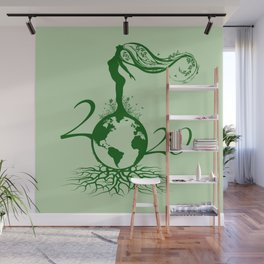 Mother Earth 2020 - Green Wall Mural