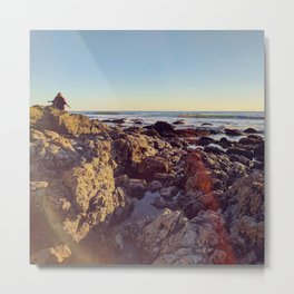 Sea and Shoals Metal Print