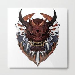 Oni Wrath II Metal Print
