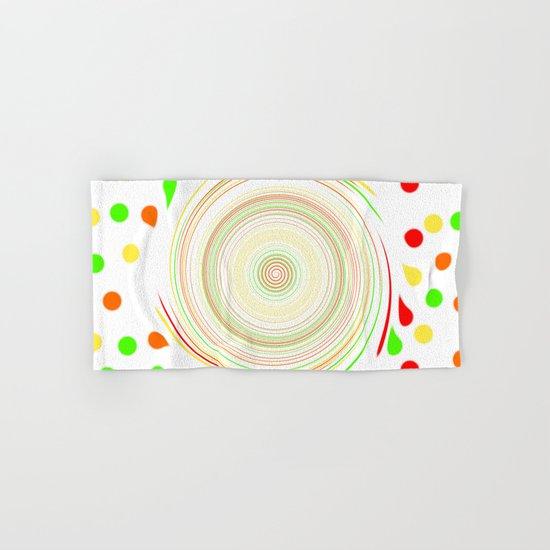 Paint Splatter Hand & Bath Towel