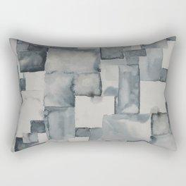 Pave Gray Rectangular Pillow