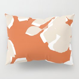 leaves rust and tan Pillow Sham