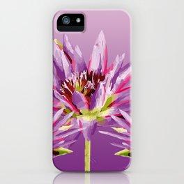 Lotos Flowers violet II iPhone Case