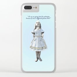 Yesterday Clear iPhone Case