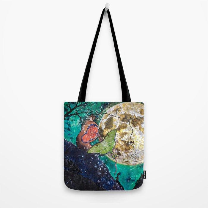 The Moons Abundance Tote Bag