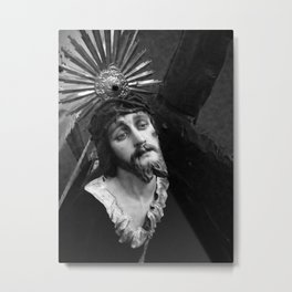 Passion of the Christ Metal Print