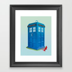 Worlds Collide Framed Art Print