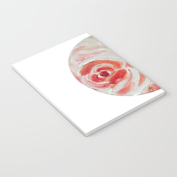 Peach Plums Notebook