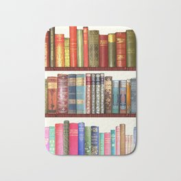 Jane Austen Vintage Book collection Bath Mat