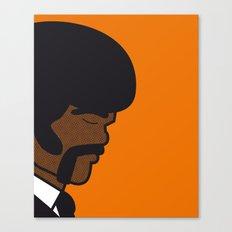 Pop Icon - Jules Canvas Print
