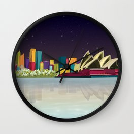 City Sydney Wall Clock