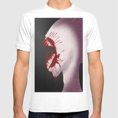 Mindnumbing Pain Mens Fitted Tee White MEDIUM