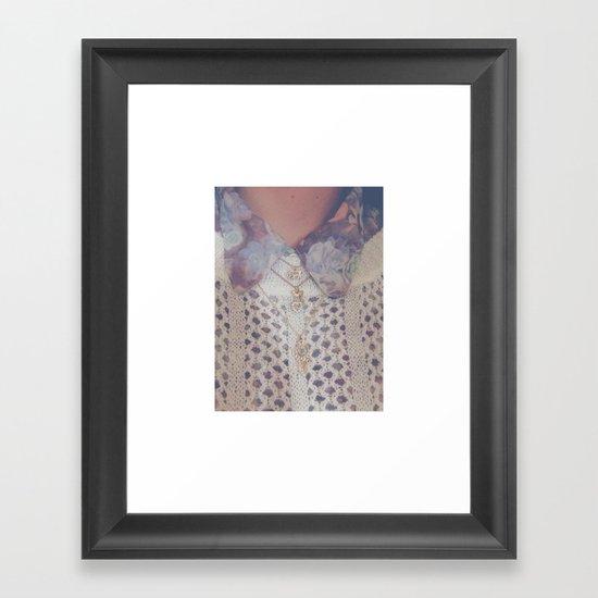 CHARMS Framed Art Print
