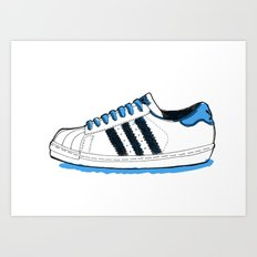 Adidas Originals Superstar Art Print