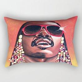 Stevie Wonder Rectangular Pillow