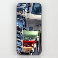 vans iPhone & iPod Skins featuring Hippy Vans by Barbo's Art