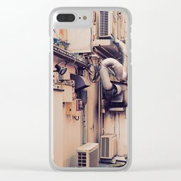 pipes ~ Clear iPhone Case