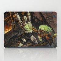 warcraft iPad Cases featuring Toxic War by BAXA by baxaart