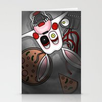 fnaf Stationery Cards featuring The Mangle by Alilali