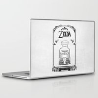 majora Laptop & iPad Skins featuring Zelda legend - Lon Lon Milk by Art & Be