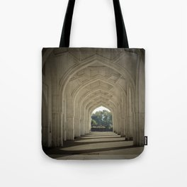 Arched colonnade Tote Bag