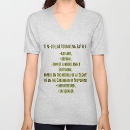 founding father ingredients Unisex V-Neck