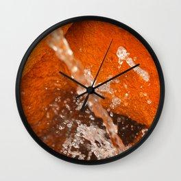 Ferrous water Wall Clock