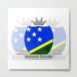 Solomon Islands Metal Print