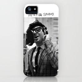 Birds in the Boneyard, Print Three: Petey in the Studio iPhone Case