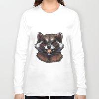 rocket raccoon Long Sleeve T-shirts featuring Rocket by Fhari