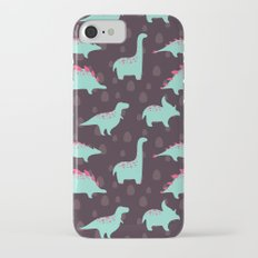 Funny dinosaurs Slim Case iPhone 7
