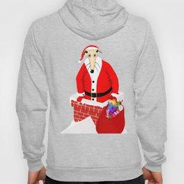 Christmas Whippet Hoody