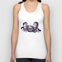 motorcycle Tank Tops featuring motorcycle by 2choey