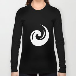 Yin Yang Exagerated Long Sleeve T-shirt