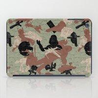 camo iPad Cases featuring Endor Battle Camo by Josh Ln