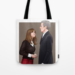 Doctor Who - I'm Right Here Tote Bag