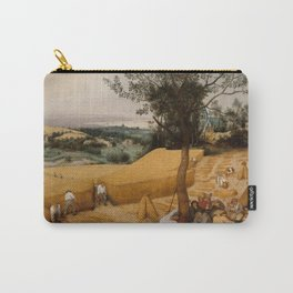 THE HARVESTERS, by Pieter Bruegel the Elder, 1565 Carry-All Pouch