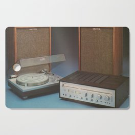 Vintage Speakers 1 Cutting Board