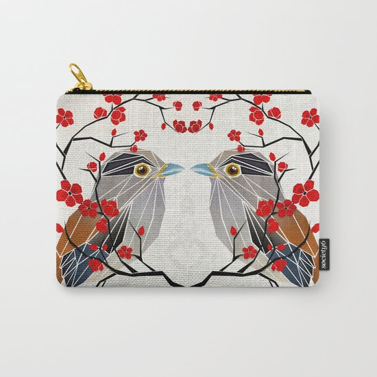 look at me my bird  Carry-All Pouch