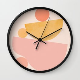 Abstraction_PLAYFUL_SHAPE Wall Clock