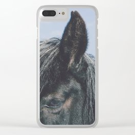 Old Timer Clear iPhone Case